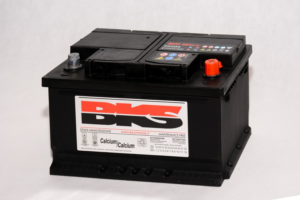 Batteria L3 Dx - 12V 80A
